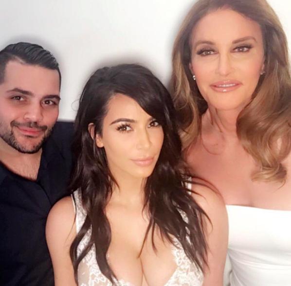 Caitlyn Jenner et Kim Kardashian