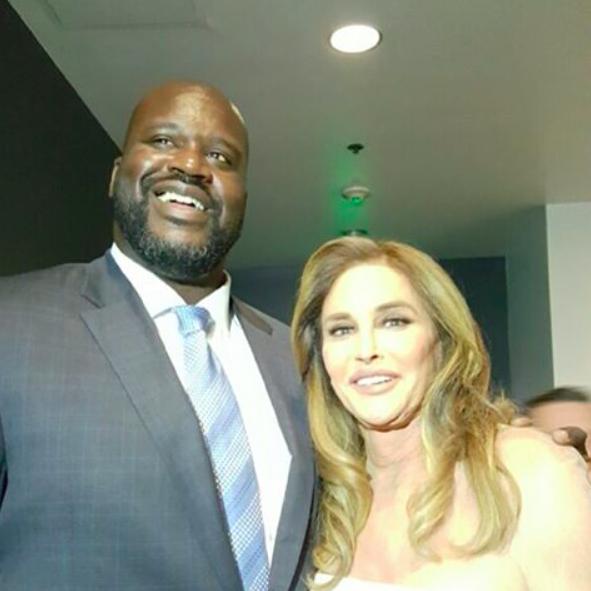 Caitlyn Jenner et Shaquille O'Neal