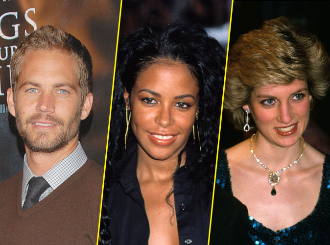 Paul Walker, Aaliyah, Lady Diana... : 16 stars mortes dans un accident de transport