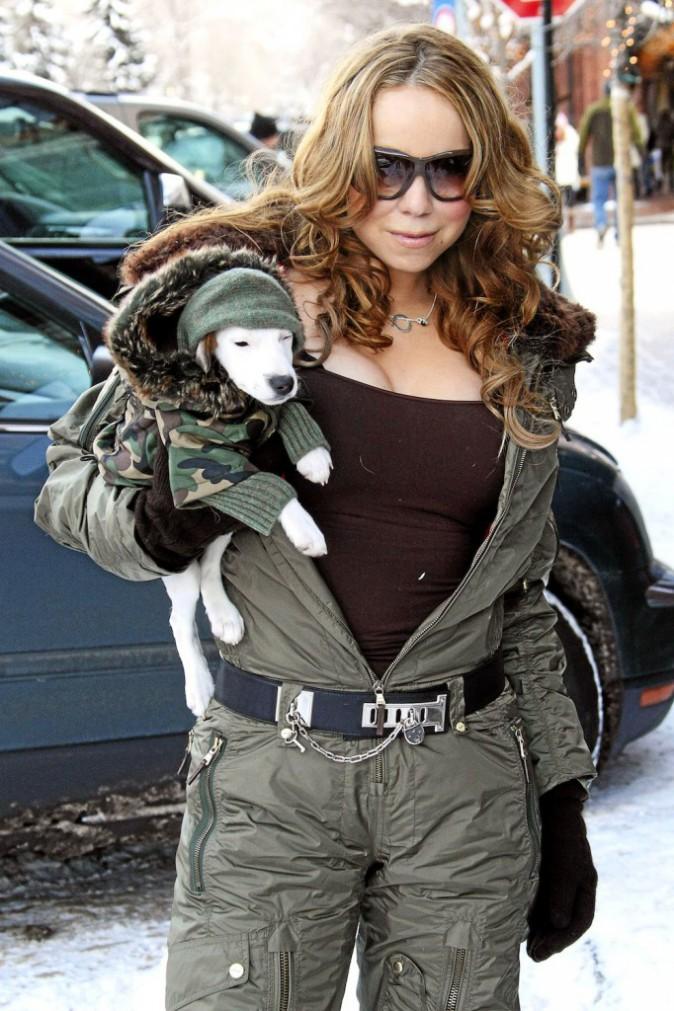 Mariah Carey : Mais que fait la SPA ?