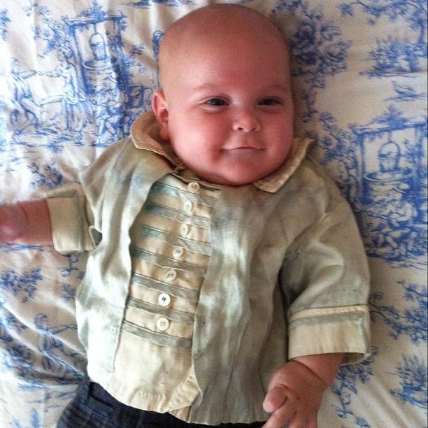 Un bébé vintage