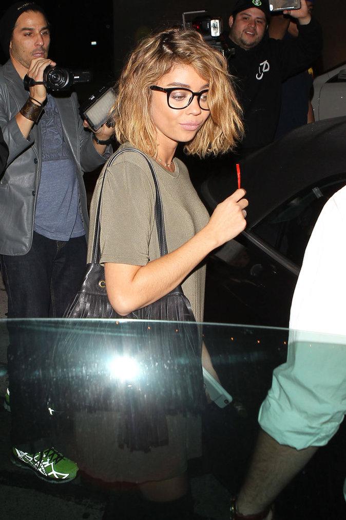 Sarah Hyland à Los Angeles le 16 août 2016