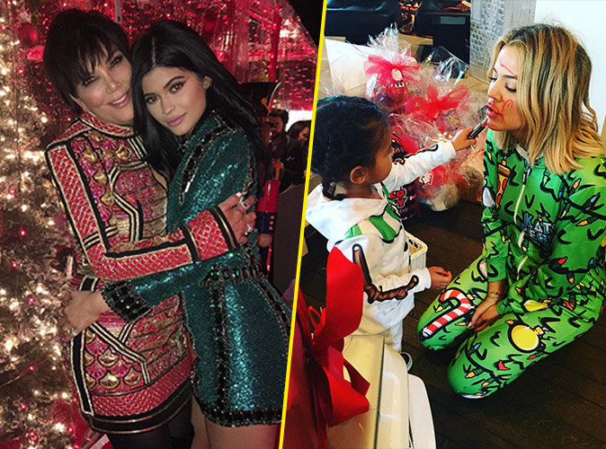 Photos : pendant que les Kardashian fêtent noël, un homme s'introduit chez Kylie Jenner