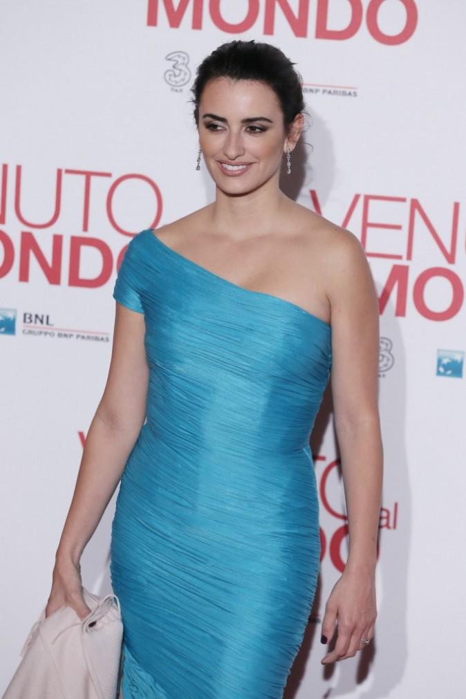 Penelope Cruz lors de la première du film Twice born à Rome, le 5 novembre 2012.