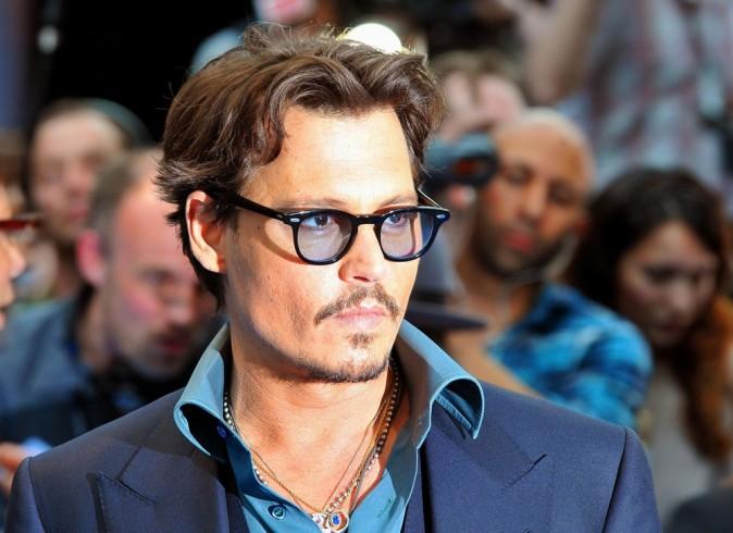 Johnny Depp lors de l'avant-première londonienne de Pirates des Caraïbes 4, le 12 mai 2011.