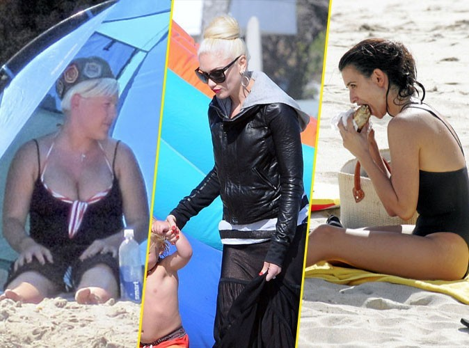 Photos : Penélope Cruz, Pink, Gwen Stefani... comment ne rien claquer à la plage en 6 leçons !