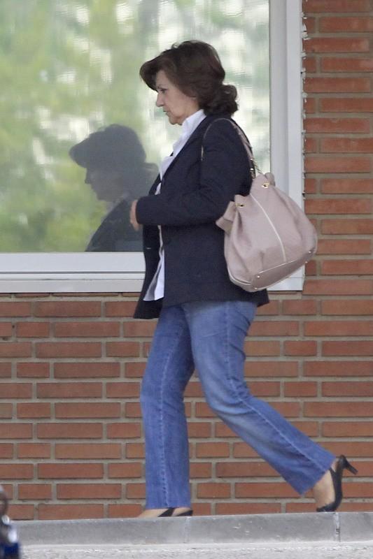 Encarnación Sanchez, la mère de Monica Cruz, à Madrid, le 14 mai 2013.