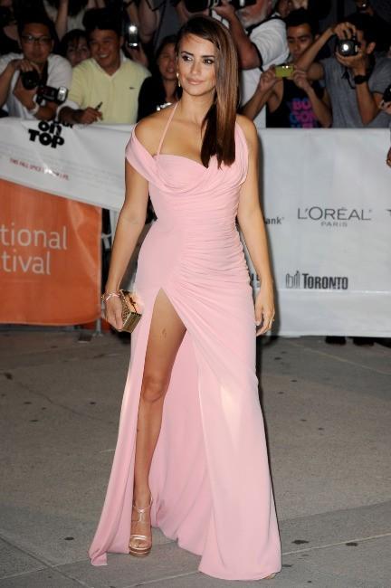 Penelope Cruz lors de la première du film Twice Born à Toronto, le 13 septembre 2012.