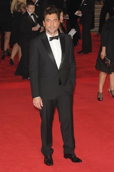 Javier Bardem lors de la première mondiale du film Skyfall à Londres, le 23 octobre 2012.