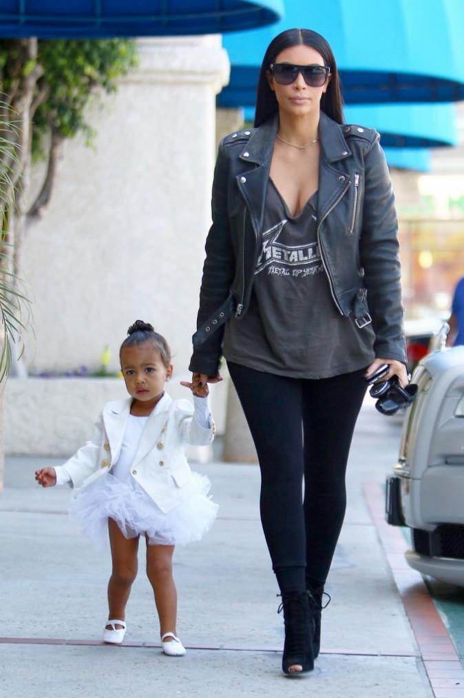 North West et Kim Kardashian le 28 mai 2015