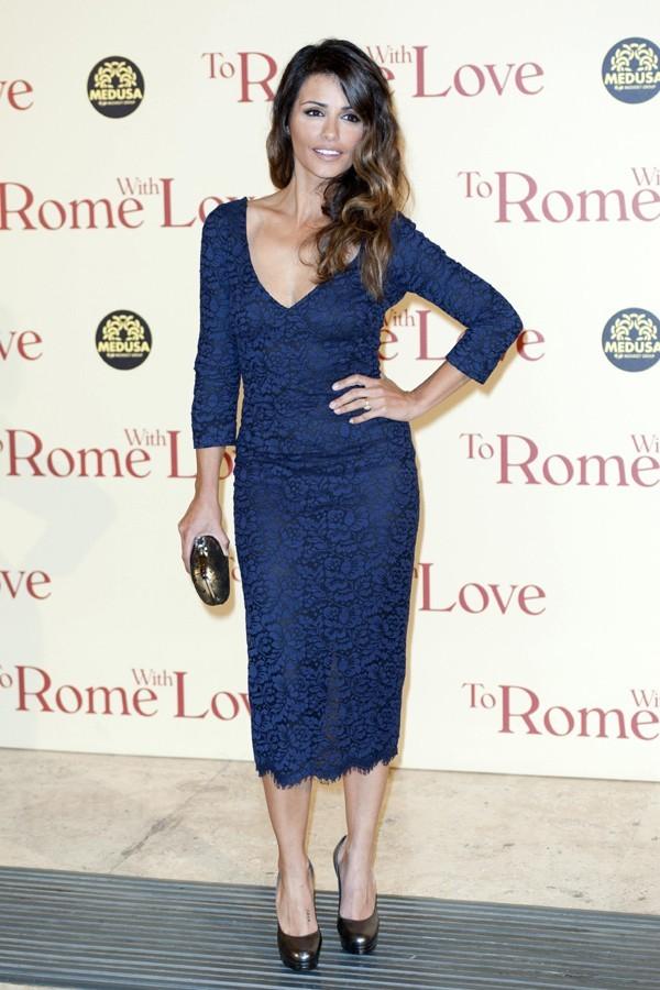 Penélope et Monica Cruz à l'avant-première de To Rome With Love à Rome
