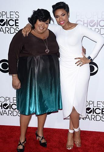 Julia et Jennifer Hudson à Los Angeles le 8 janvier 2014