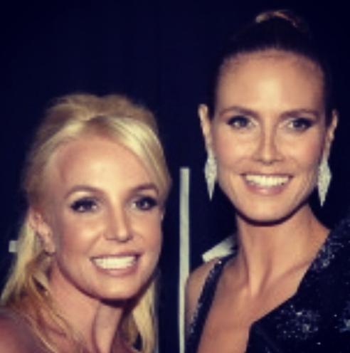Britney Spears et Heidi Klum !