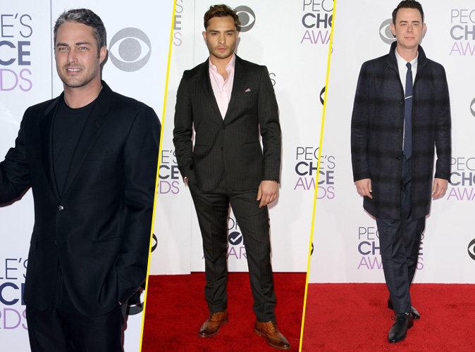 Photos : People's Choice Awards 2016 : Taylor Kinney, Ed Westwick, Colin Hanks... So class et sexy !