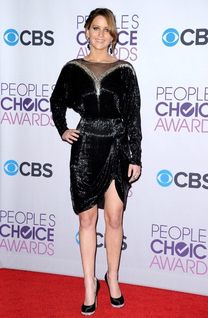 Jennifer Lawrence le 9 janvier 2013 à Los Angeles