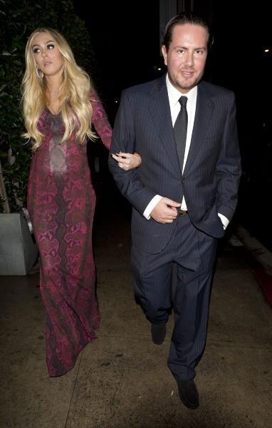 James Stunt et Petra Ecclestone à Santa Monica, le 17 décembre 2012.