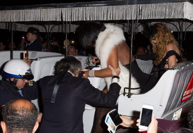 Kelly Rowland à la fête d'anniversaire de Tine Knowles organisée à la Nouvelle-Orléans le 11 janvier 2014
