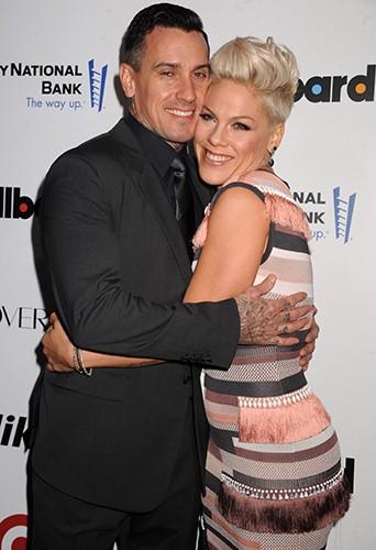Pink et Carey Hart à New-York le 10 décembre 2013