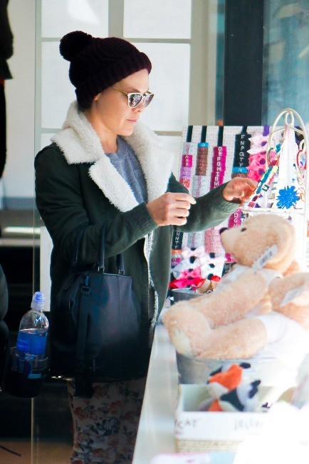 Pink et sa fille Willow, New York, 22 mars 2013.