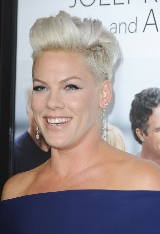 "Pink à l'avant-première du film ""Thanks For Sharing"" à Los Angeles le 16 septembre 2013"