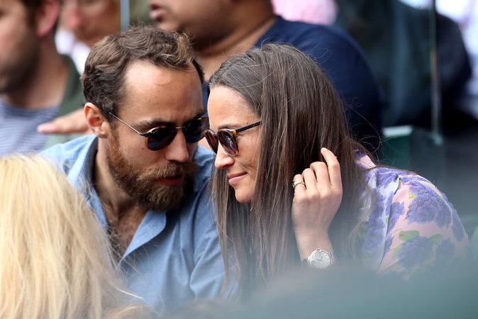 Pippa et James Middleton