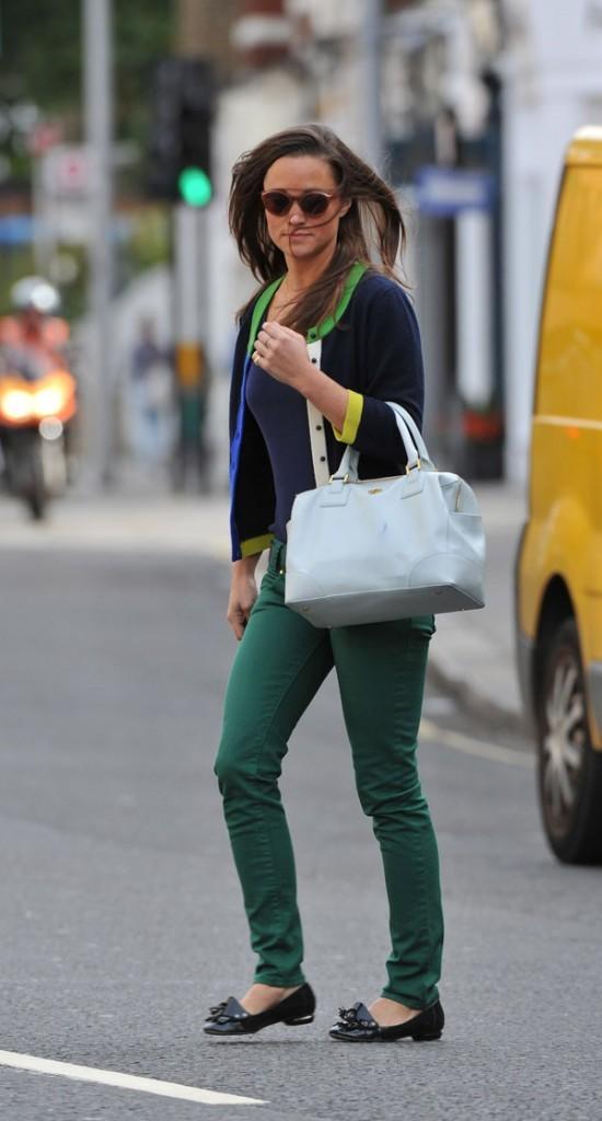 Pippa Middleton le 20 septembre 2012 à Londres