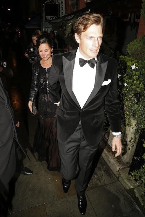 Photos : Pippa Middleton : avec son chéri Nico Jackson, elle pique la vedette à Kate et William !