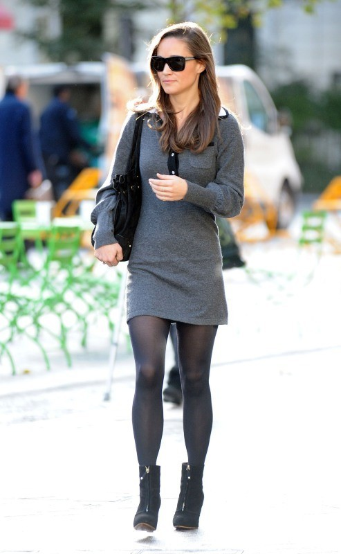 Pippa Middleton le 17 octobre 2012 à Londres