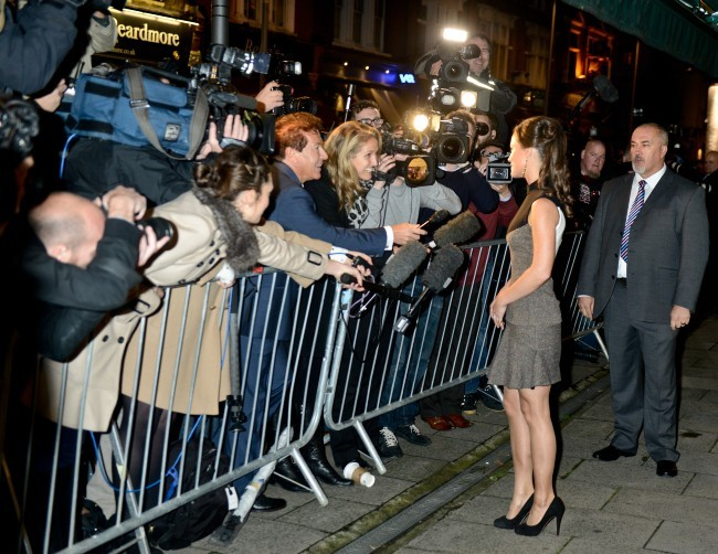 Pipppa Middleton, Londres, 25 octobre 2012.