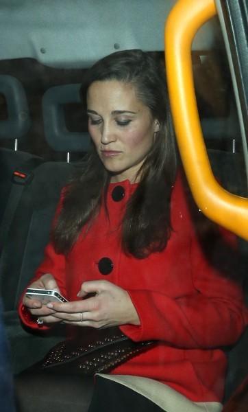 Pippa Middleton, Londres, 1 novembre 2012.