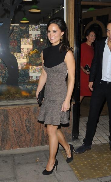Pippa Middleton lors de la promo de son livre à Londres, le 25 octobre 2012.