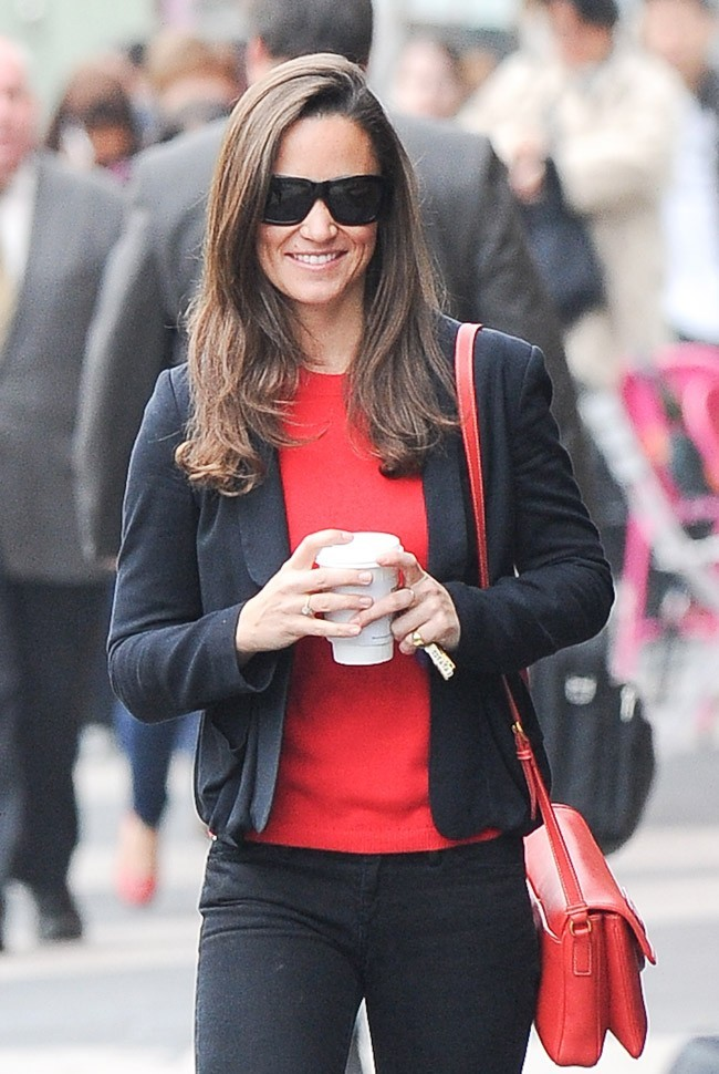 Pippa Middleton le 15 octobre 2012 à Londres