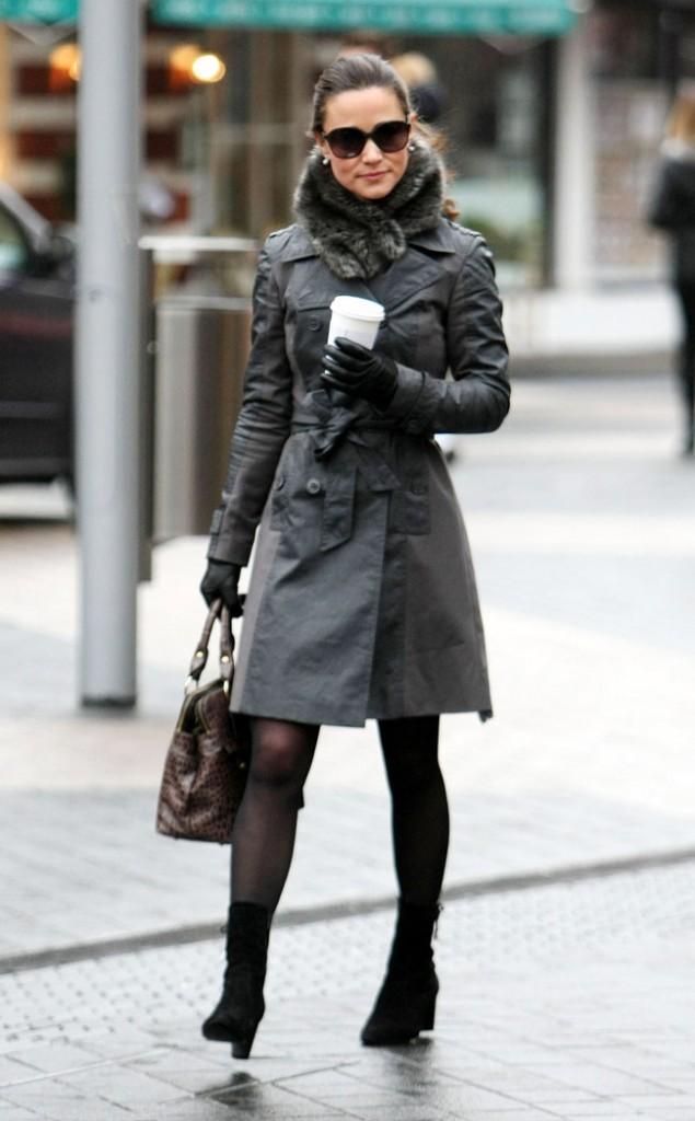 Il fait bien froid à Londres...