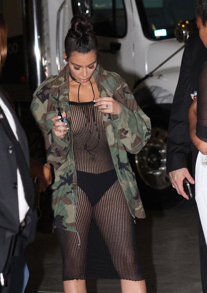 Kim Kardashian à Los Angeles le 14 juillet 2016
