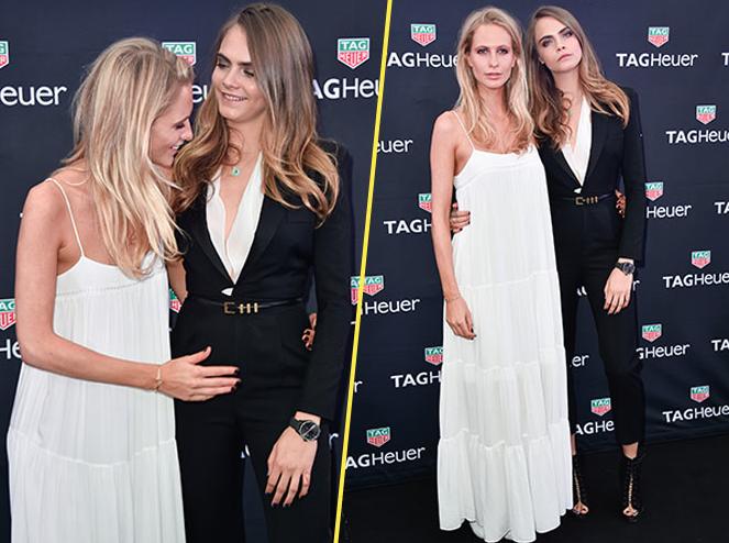 Poppy et Cara Delevingne le 23 mai 2015