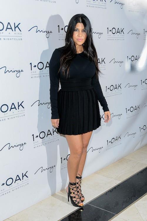 Photos : pour ses 36 ans, Kourtney Kardashian se rabiboche avec Scott à Vegas !