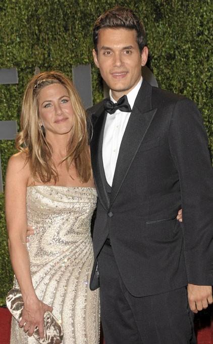 Photos : Jennifer Aniston et John Mayer, un couple mouvementé