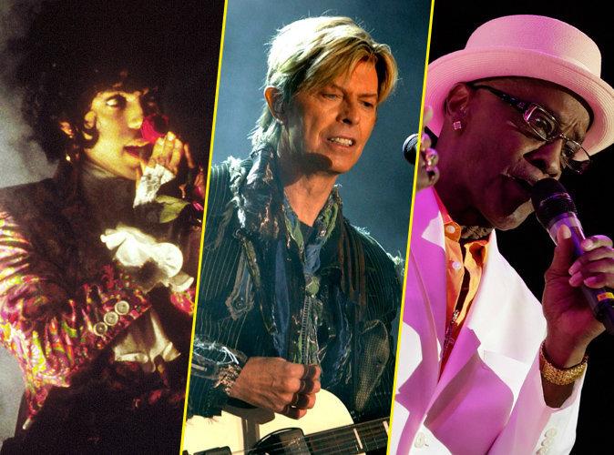 Photos : Prince, David Bowie, Billy Paul : ce que la musique perd en 2016