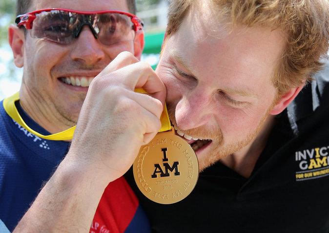 """Photos : Prince Harry : """"les Invictus Games n'ont jamais été à propos des médailles"""" !"""