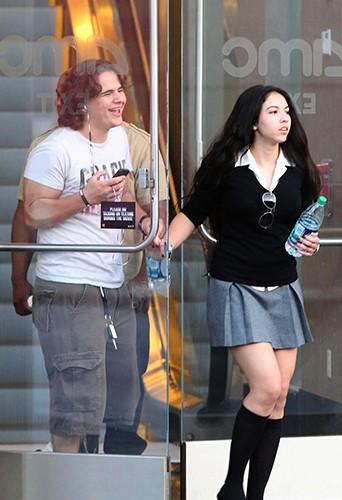 Prince Jackson et sa petite amie le 13 avril à Los Angeles