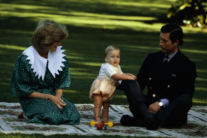 Les premiers pas du Prince William