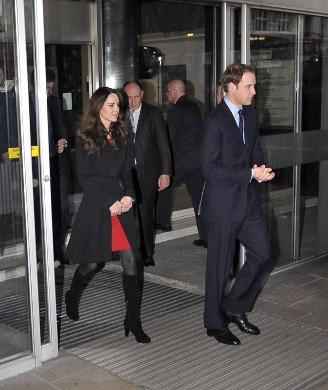 Kate Middleton aime la chasse. La preuve ! C'est elle qui court après le Prince William