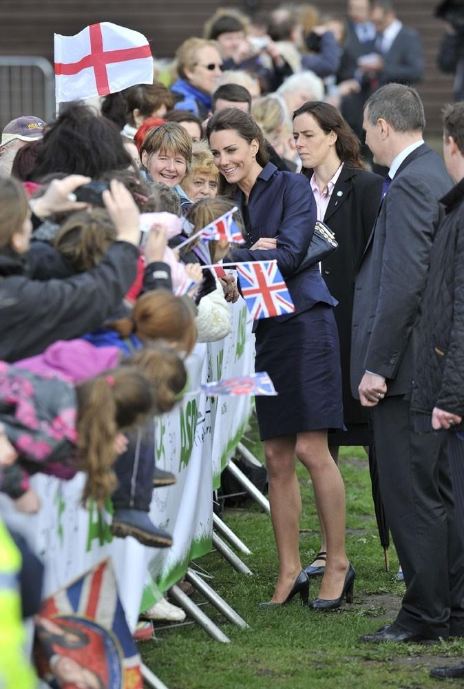 Le couple William et Kate déchaîne les foules !