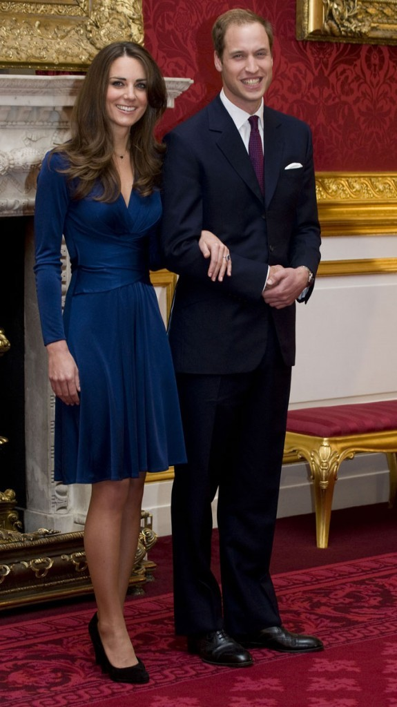 Le Prince William et Kate Middleton font honneur à la famille royale