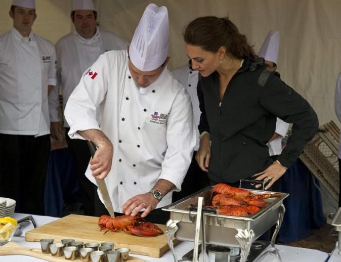 Kate reprend un cours de cuisine !