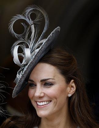 Kate a révélé son troisième chapeau aux Anglais !