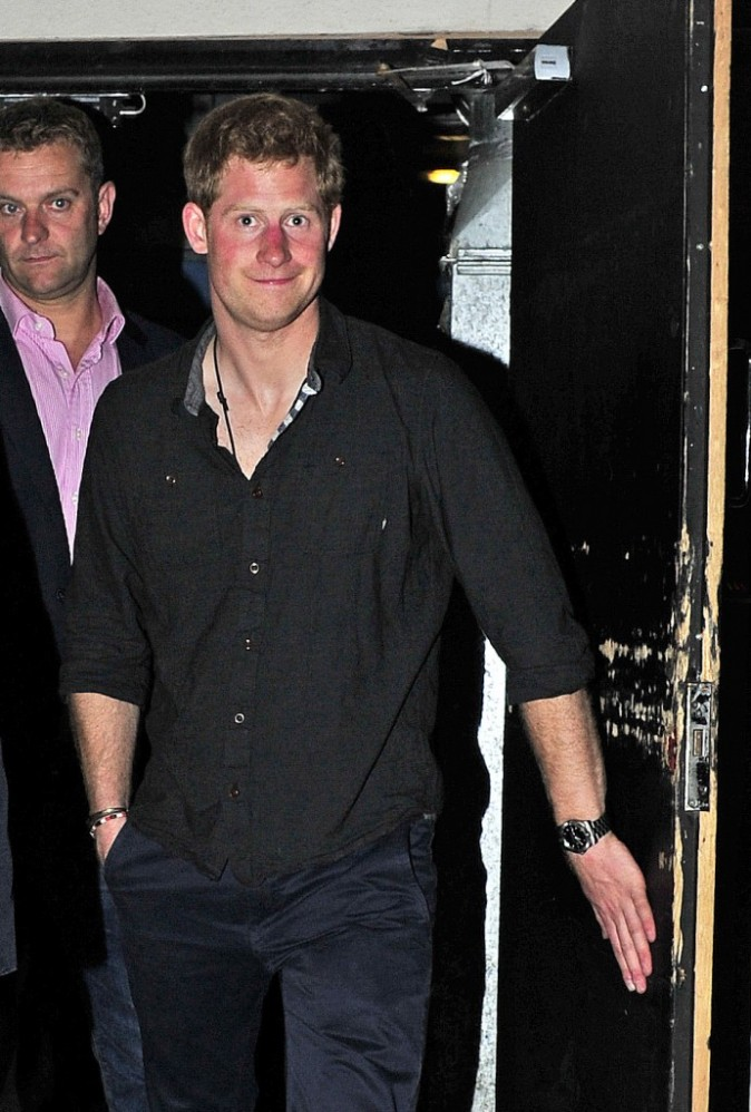 Prince Harry, Londres, 2 juin 2013.