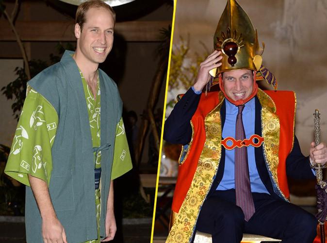 Photos : prince William : sans Kate Middleton, il se plie à toutes les fantaisies !