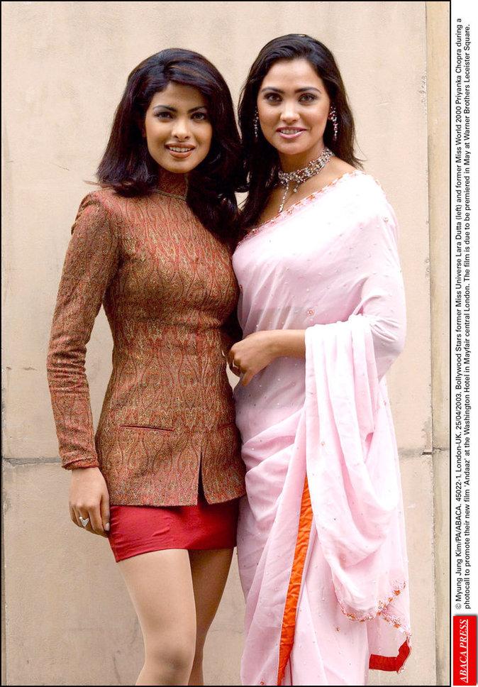 Lara Dutta et Priyanka Chopra en 2003
