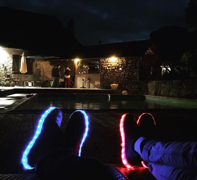 Photos : Public a testé... les chaussures lumineuses Maison Tothem !